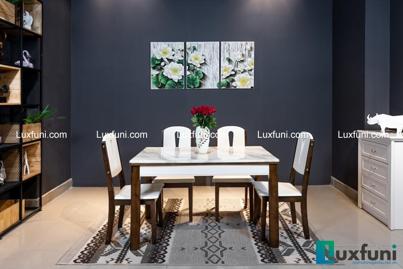 Giới thiệu 5 bộ bàn ăn 6 ghế hiện đại giá dưới 16 triệu đồng-3