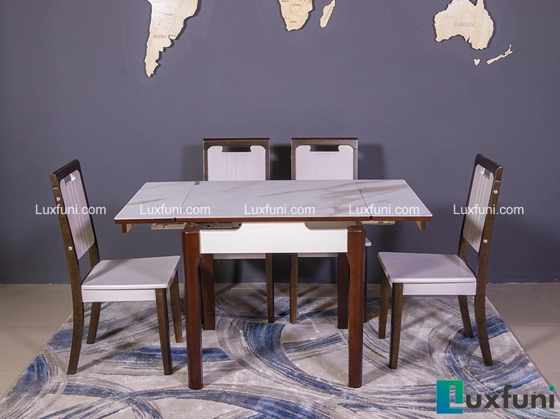 Giới thiệu 5 bộ bàn ăn 6 ghế hiện đại giá dưới 16 triệu đồng-5