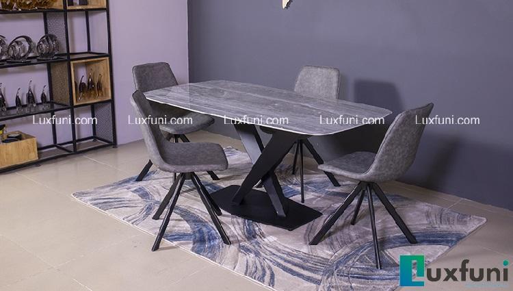Giới thiệu 5 bộ bàn ăn 6 ghế hiện đại giá dưới 16 triệu đồng