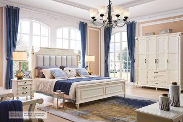 Giường ngủ tân cổ điển Bắc Mỹ 8629