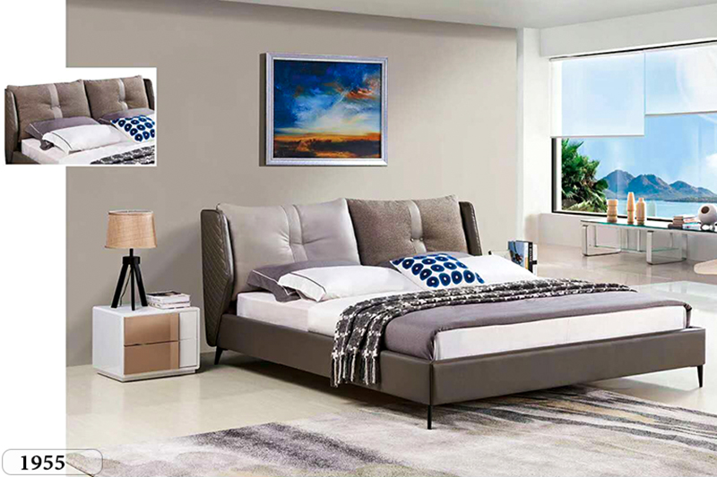 Giường ngủ tân cổ điển đương đại Patrick 1955