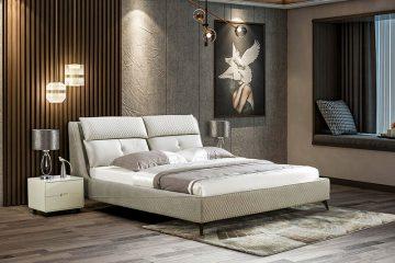 Giường ngủ tân cổ điển đương đại Patrick 810
