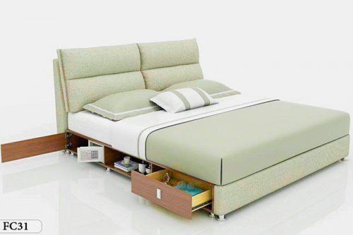 Giường ngủ tân cổ điển đương đại Patrick FC31