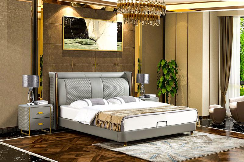 Giường ngủ tân cổ điển đương đại Patrick FK201