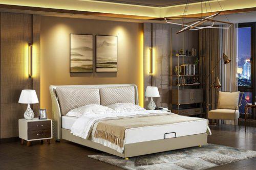 Giường ngủ tân cổ điển đương đại Patrick FK213