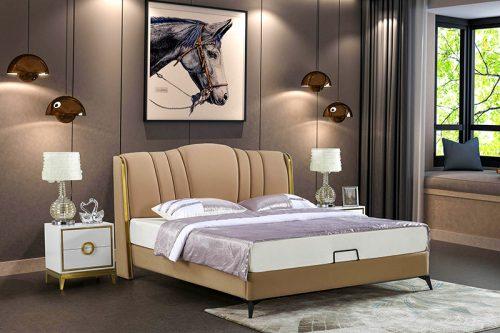 Giường ngủ tân cổ điển đương đại Patrick FK216