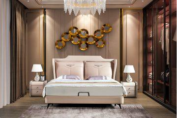 Giường ngủ tân cổ điển đương đại Patrick FK223