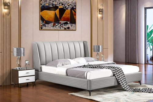 Giường ngủ tân cổ điển đương đại Patrick YS008-B