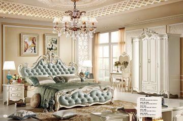 Giường Tommy sơn ngọc trai 8801X-2