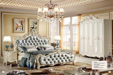 Giường Tommy sơn ngọc trai 8803X-2