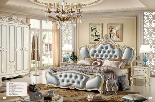 Giường Tommy sơn ngọc trai 8809X-2