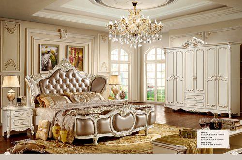 Giường Tommy sơn ngọc trai 8818X-2