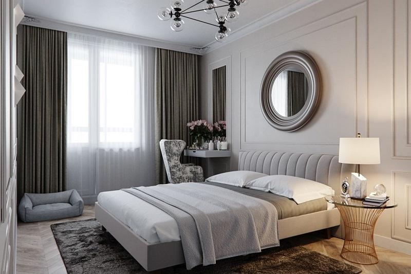 Gợi ý 5 mẫu giường ngủ đẹp phong cách tân cổ điển đương đại-1