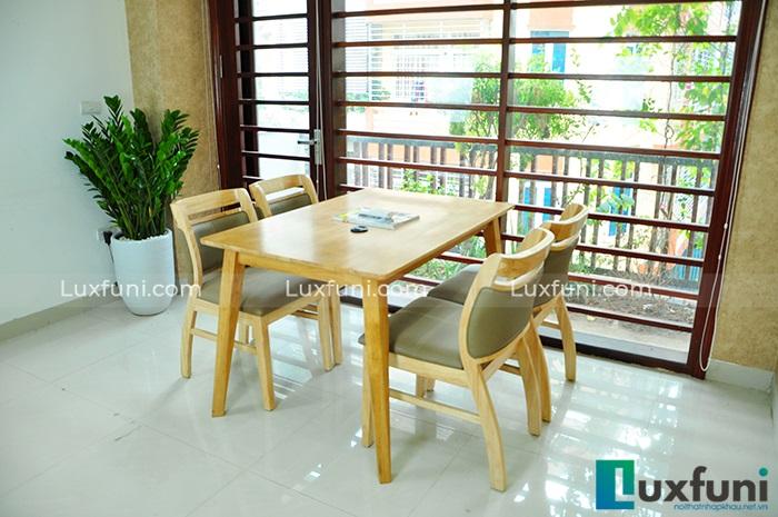 Gợi ý những bộ bàn ăn cho phòng bếp nhỏ và cách lựa chọn, bố trí-10