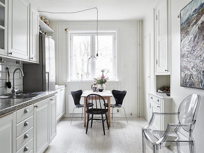 Gợi ý những bộ bàn ăn cho phòng bếp nhỏ và cách lựa chọn, bố trí-14