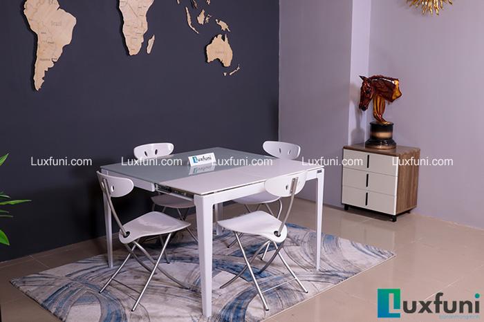 Gợi ý những bộ bàn ăn cho phòng bếp nhỏ và cách lựa chọn, bố trí-5