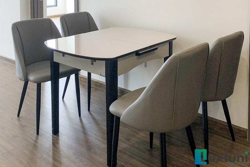 Hình ảnh thực tế bàn ăn thông minh mở rộng B68-6