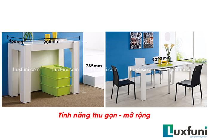 Hướng dẫn sử dụng bàn ăn thông minh xếp gọn B2370-5