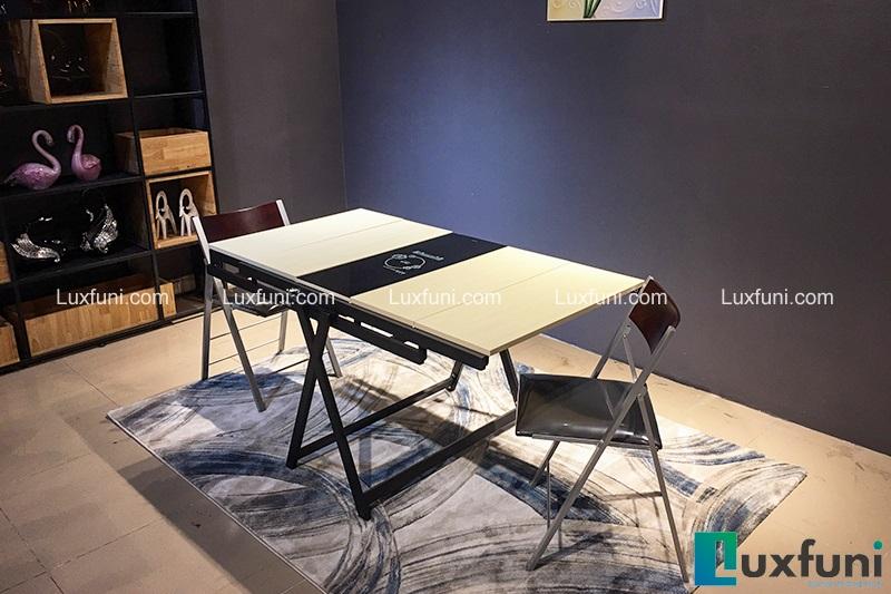 Những mẫu bàn ăn hiện đại mặt gỗ nâng tầm không gian bếp-6