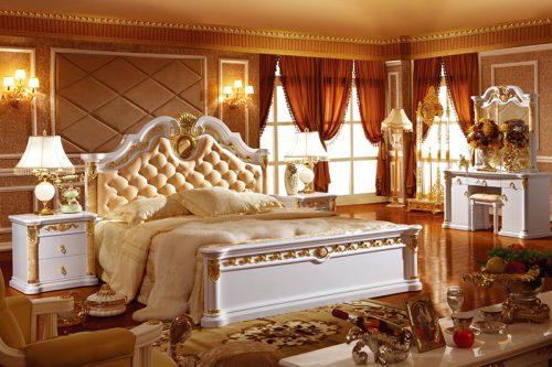 Phòng ngủ Châu Âu cao cấp 3028-12