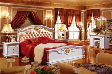 Giường ngủ cổ điển châu Âu 3003