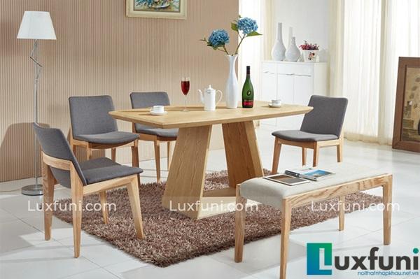 Top 10 mẫu bàn ăn đẹp bằng gỗ tự nhiên mới update-5