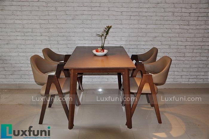 Top 6 mẫu bàn ăn gỗ đẹp giá tốt chỉ từ 5 triệu đồng-3