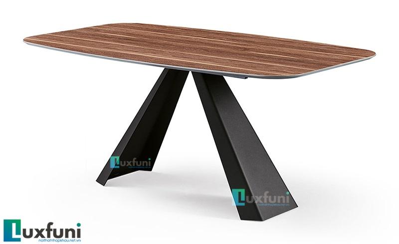 Top 6 mẫu bàn ăn gỗ đẹp giá tốt chỉ từ 5 triệu đồng-5