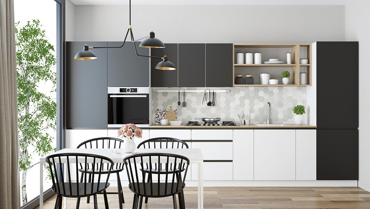 Ý tưởng bố trí bàn ghế ăn đẹp cho nhà chật trở nên rộng rãi