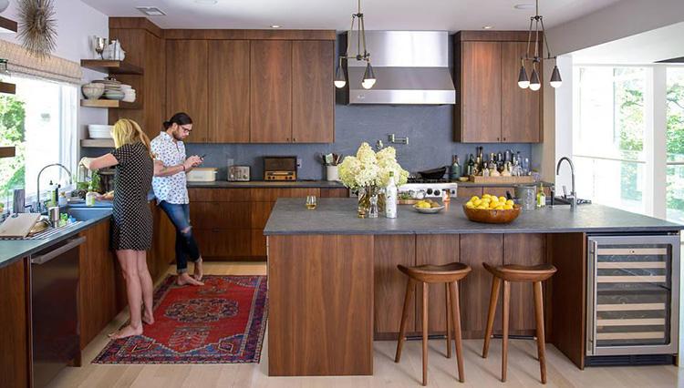 5 mẫu thiết kế phòng bếp dành cho biệt thự cao cấp