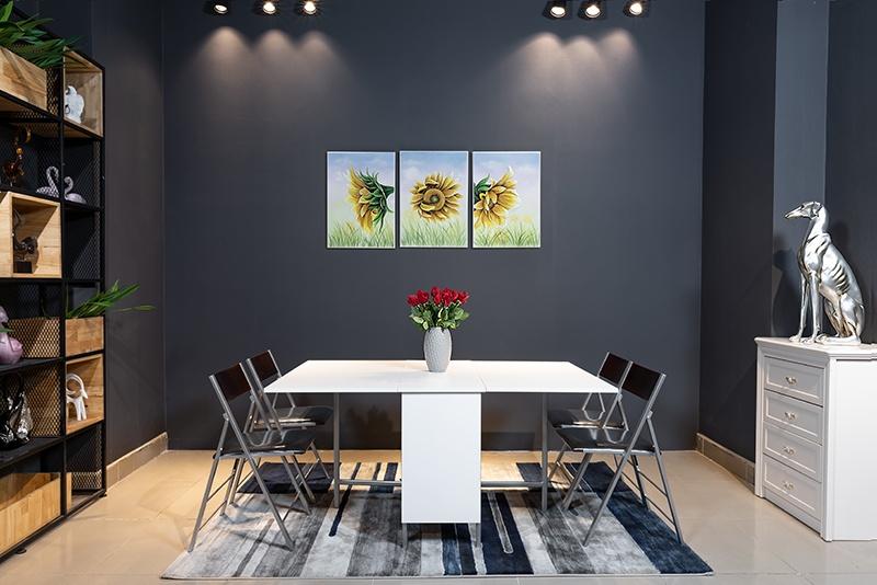 [Đánh giá] 8+ mẫu bàn ăn gấp gọn thông minh đáng sở hữu hiện nay