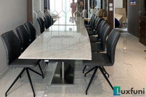 Ghế ăn 6232 kết hợp bàn ăn thông minh T809-Chị Quyên-Tòa W3, Vinhomes West Point, Đỗ Đức Dục-1
