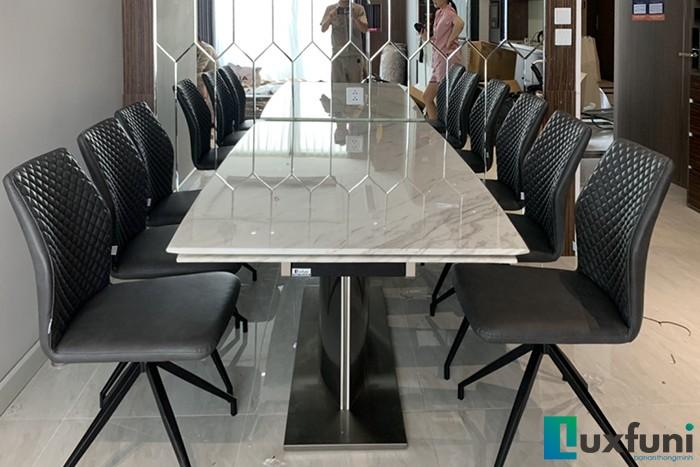 Ghế ăn 6232 kết hợp bàn ăn thông minh T809-Chị Quyên-Tòa W3, Vinhomes West Point, Đỗ Đức Dục