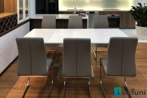 Ghế ăn C394 kết hợp bàn ăn thông minh mặt đá 8606-Anh Đông-Tòa Tecco, Thanh Trì, Hà Nội-1
