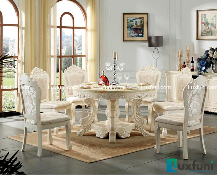 bàn ăn đẹp mặt đá - sự sang trọng cho ngôi nhà-10
