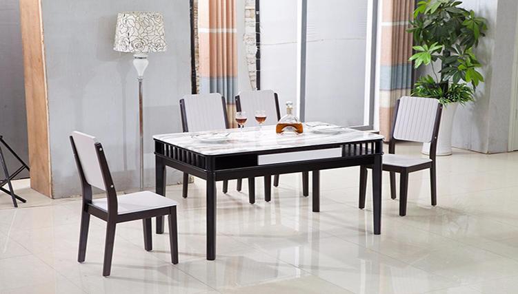 bàn ăn đẹp mặt đá - sự sang trọng cho ngôi nhà-4