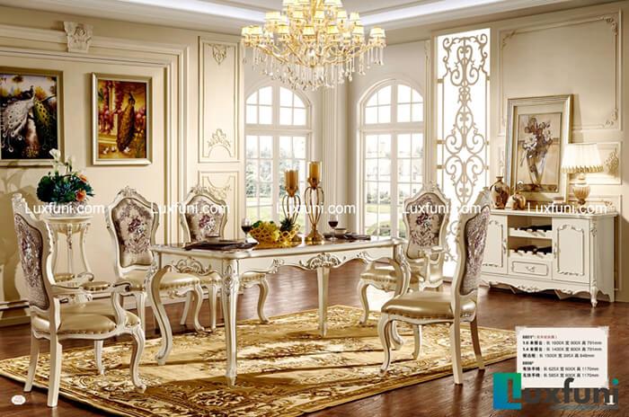 bàn ăn đẹp mặt đá - sự sang trọng cho ngôi nhà-8