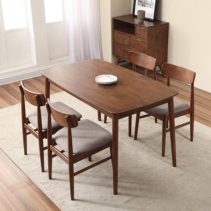 Bàn ăn gia đình bằng gỗ - Lựa chọn thông thái dành cho bạn!-002
