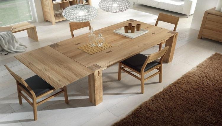 Bàn ăn gia đình bằng gỗ - Lựa chọn thông thái dành cho bạn-10