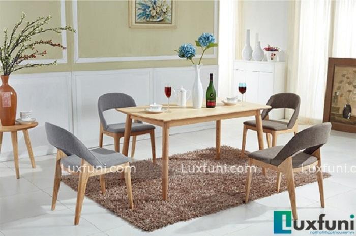 Bàn ăn gia đình bằng gỗ - Lựa chọn thông thái dành cho bạn-4