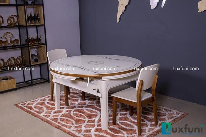 Điểm danh những mẫu bàn ăn tròn gấp gọn thông dụng nhất hiện nay-4