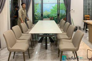 Ghế ăn TC5138 kết hợp bàn ăn thông minh T853-Chị Mai-Đường 3,4 KĐT Gamuda