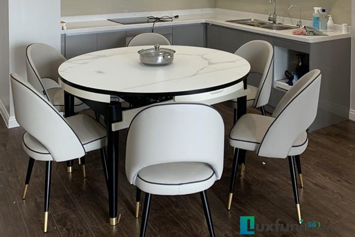 Giá bàn ăn tròn 10 ghế được ưa chuộng nhất hiện nay-6