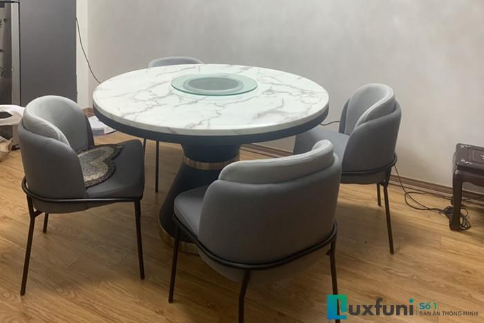 Giá bàn ăn tròn 10 ghế được ưa chuộng nhất hiện nay-7
