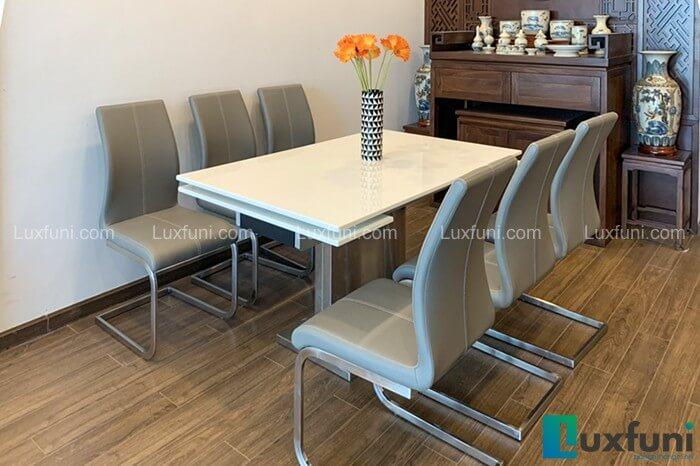 Giới thiệu 10+ bộ bàn ăn 6 ghế hiện đại-4