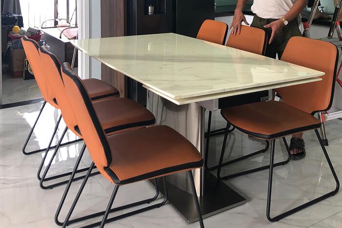 Giới thiệu 10+ bộ bàn ăn 6 ghế hiện đại