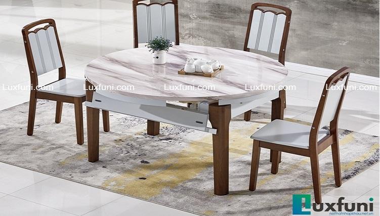 Những bàn ăn tròn mặt đá sở hữu chất lượng đỉnh cao-4