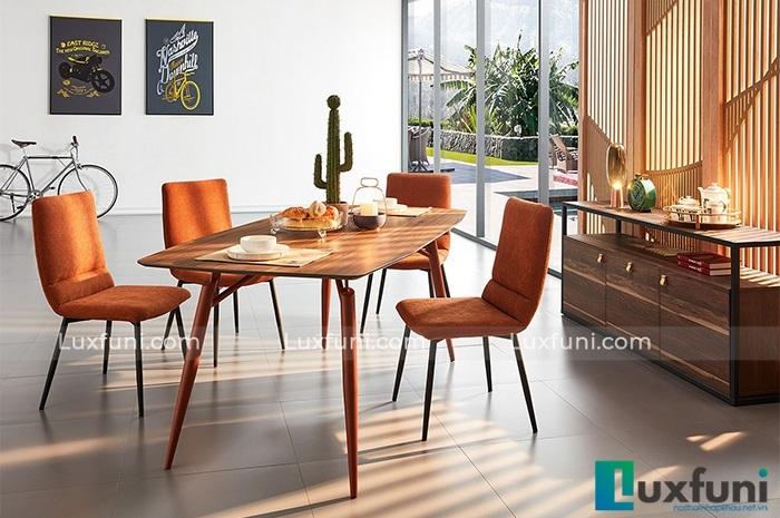 Những bộ bàn ăn 4 ghế nhỏ gọn, phù hợp với với nhiều gia đình hiện đại-4