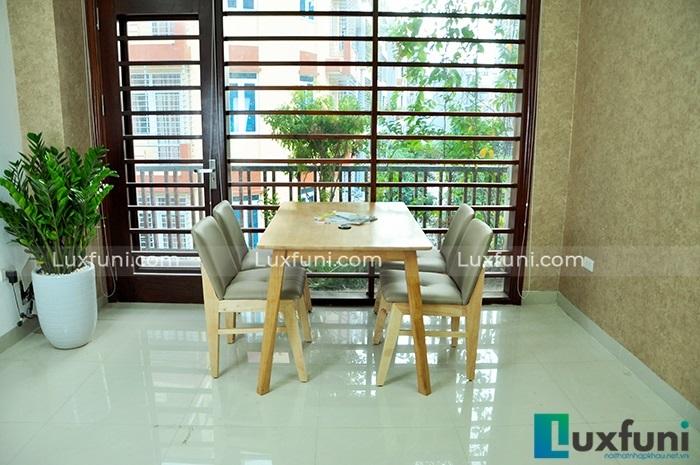 Những bộ bàn ăn 4 ghế nhỏ gọn, phù hợp với với nhiều gia đình hiện đại-6
