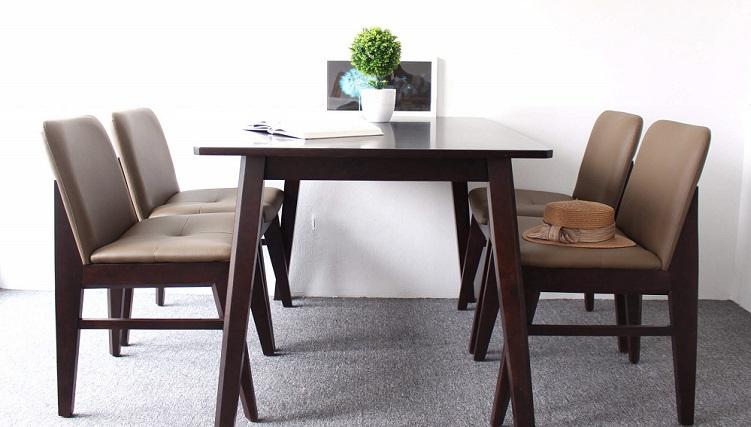 Những bộ bàn ăn 4 ghế nhỏ gọn, phù hợp với với nhiều gia đình hiện đại-7